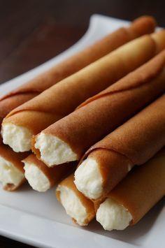 Rurki z bitą śmietaną | Moje Wypieki Sweet Recipes, Cake Recipes, Dessert Recipes, Sweet Little Things, Crazy Cakes, Sweets Cake, Dessert Drinks, Tasty Dishes, No Bake Cake