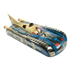 Hungarian manufacturer Holdauto made this terrific tin space car in It was discovered in near mint condition in its original box. The car measures high, long and wide. Space Car, Space Toys, Antique Toys, Vintage Toys, Retro Vintage, Vintage Space, Vintage Photos, Hampton Artwork, Modern Toys