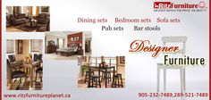 All modern home decor only @ Ritz furniture Planet Ltd. From your #bedroomfurniture to #sittingroomfurniture, From #studyroomfurniture to #diningroomfurniture all types of designer and modern furniture available here. #table #sofa #chairs #bed #diningtable contact @ 289-521-7489. visit at: http://www.ritzfurnitureplanet.ca/ #ModernFurnitureMississauga #FurnitureStoresMississauga #RitzFurnitureMississauga #modernfurniture #Livingroomfurniture