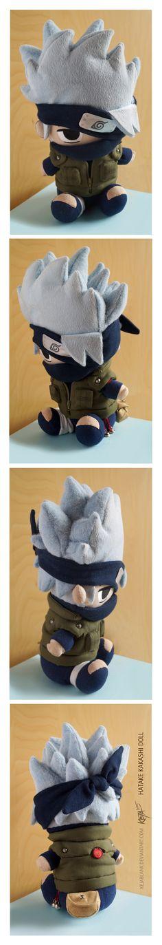 Kakashi doll plush plushie by Keja Blank Art