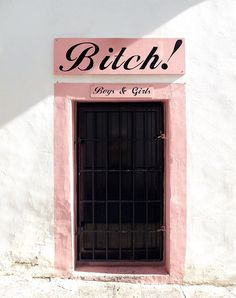 Bitch door @ Ibiza