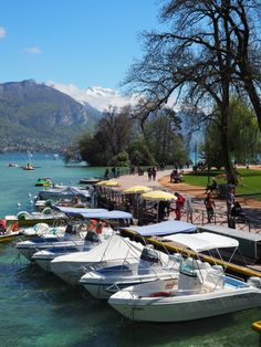 Lake Annecy, France #travel