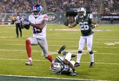 Preseason Week 3 Giants vs. Jets: WR TAVARRES KING In his chase for a spot on the 53-man roster, King caught two key touchdowns in the second half from Ryan Nassib to win the game.(8/27/16)