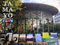 Ya tenemos a los chicos de #latitud43 tocando en el Bule de #Donostia #SanSebastian para amenizar el #zipristin de @tamayopapeleria y @etiopia_eutopia Que bien suenan!