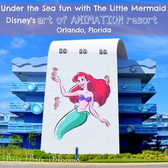 Under the Sea Fun with The Little Mermaid, Disney's Art of Animation Resort, Orlando (4)