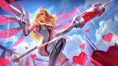 Wallpaper Rafaela Biomedic Skin Mobile Legeneds HD for PC Game Character, Character Concept, Character Design, Mobile Legend Wallpaper, Hero Wallpaper, League Of Legends, Fantasy Characters, Anime Characters, Moba Legends