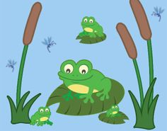 Create-A-Mural - Frog Wall Decals, $19.99 (http://www.create-a-mural.com/products/frog-wall-decals.html)