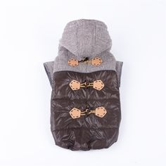 Type: Dogs Brand Name: BingPet Material: Polyester Season: Autumn/Winter Pattern: Solid Des: Dog clothes for small&medium dogs girls and boys winter