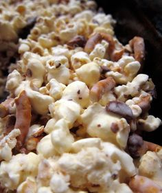 Salted Caramel, Almond and Pretzel Popcorn: 8 Award-Winning Popcorn Recipes Worthy of The Red Carpet - mom.me