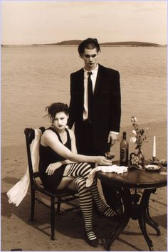 More Dresden Dolls weirdness... I want to play with some unexpected juxtapositions like this. Make it all a little artsier.