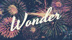 WONDER | Anna Higgie