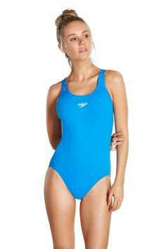 Buy Speedo® Essential Endurance Medalist from the Next UK online shop Uk Online, Sports Women, Women Swimsuits, One Piece, Legs, Stylish, Swimwear, Fashion, Bathing Suits