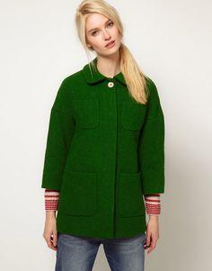 abrigo verde esmeralda, color 2013