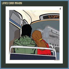 Late Bus (Market) - Limited Edition Print 01 - 100 – Goo Design