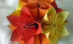 flores kusudama
