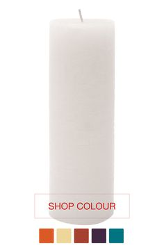 Fragranced Pillar Candle, 7,5x23cm| Mrphome Online Shopping