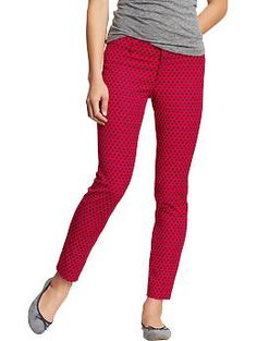 I can't wait to wear normal pants again. so cute! Women's The Diva Skinny Ankle Pants | Old Navy