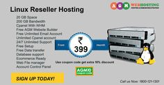 Linux Reseller Hosting - Get your business online. Start with hosting at just ₹399/month https://www.agmwebhosting.com/linux-reseller-hosting.php  Best Linux Reseller Hosting by AGM Web Hosting, 20 GB Space, 200 GB Bandwidth, Cpanel With WHM, Free AGM Website Builder, Free Unlimited Email Account, Unlimited Cpanel account, 24/7 Unlimited Support, Free Setup, Free Data transfer, Database support, Ecommerce Ready, Web File manager, Account Control Panel, 30 Days Money Back. We are best hosting…