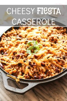 Cheesy Fiesta Casserole — A Pressure Cooker Meal