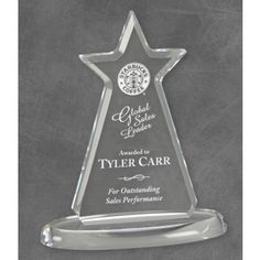 Our Acrylic Star Trophy features a clear acrylic rising star for engraving personalization on an oval base. This is tall & includes free engraving! Star Trophy, Acrylic Trophy, Acrylic Awards, Clear Acrylic, Different Colors, Smile, Base, Stars, Crystals