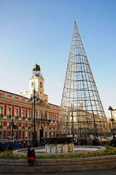 Puerta del Sol - Madrid  en Navidad