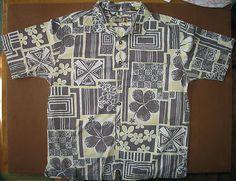 Hawaiian shirt by KAHALA   '1936' retro