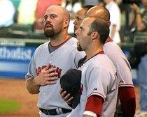 Major League Baseball star Kevin Youkilis has a ball, teaching a kid a few manners. #examinercom