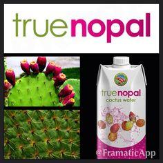 True Nopal Cactus Water! www.truenopal.com  Natural, heathy, hydrating!