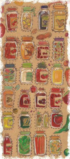 Sketching for the  Kitchen by Kübra Aslan, via Behance