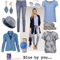 Blauw is een topkleur voor het zomertype.