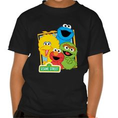 3880fd1c51d80 Sesame Street Pals Tshirts Oscar The Grouch
