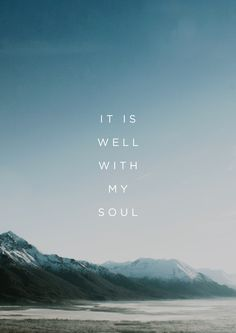 It Is Well // Kristene DiMarco More