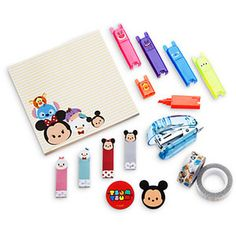 Disney Tsum Tsum Stationery Set