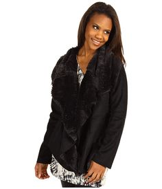 Love this jacket.    Calvin Klein Jeans Faux Shearling Jacket