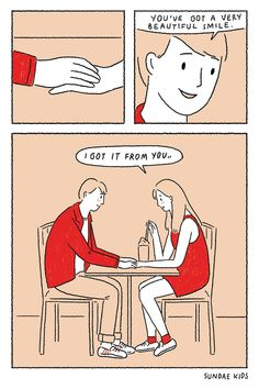 Couple cute i love you, love is sweet, beautiful love, love illustration, Cute Couple Comics, Comics Love, Couples Comics, Couple Cartoon, Cute Comics, Comics About Love, Super Quotes, Love Quotes, Funny Quotes