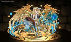 Heavenly Herald, Archangel stats, skills, evolution, location   Puzzle & Dragons Database