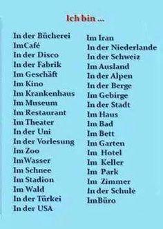 Study German, German English, Learn English, German Language Course, German Language Learning, German Grammar, German Words, French Swear Words, German Resources