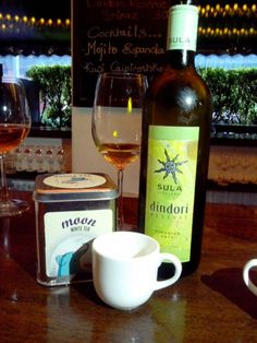 Moon tea pairs perfectly with Sula Vineyards Dindori Reserve Viognier!