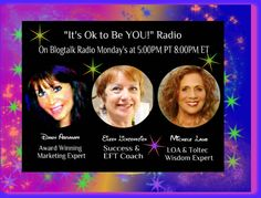 """It's OK to Be YOU!"" Radio Show Where we are really US~Funny~ Crazy~Honest~Wild. Warning: Don't blame us if you get addicted to the show."