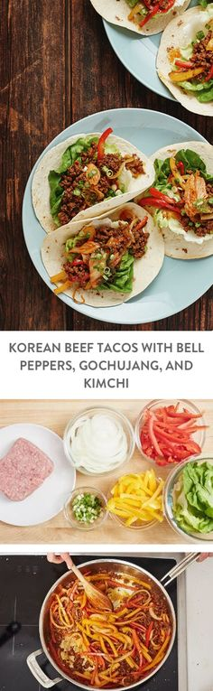 tacos are back! Inspired by the traditional braised meat dish bo ssam ...