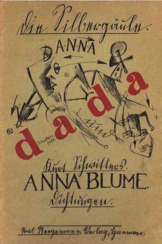 Kurt Schwitters   An Anna Blume   1919