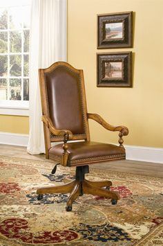 Library bookcase home office desk chair