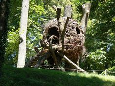 Image result for round tree house designs