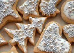 Christmas Cookies Gift, Christmas Diy, Cookie Gifts, Sugar Cookies, Gingerbread Cookies, Cooking, Sweet, Room Interior, Interior Design