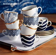 Istanbul coffee cups design. Exquisitely beautiful and simple!