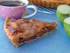 Γαλλική μηλόπιτα – Νοστιμιές για όλους French Apple Pies, Greek Desserts, Sweet Recipes, French Toast, Deserts, Sweets, Cookies, Breakfast, Cake