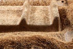 Cocoform - MaterialDistrict Craft Materials, Building Materials, Recycled Materials, Natural Materials, Material Board, Material Design, Egg Packaging, Timber Furniture, Natural Latex