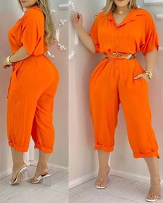 Womens Clothing Stores, Clothes For Women, Chic Type, Jumpsuit With Sleeves, Different Fabrics, Sleeve Styles, Summer Outfits, Womens Fashion, Jumpsuit Style