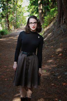 Seven Buttons Designs: The Sherlock Skirt {Cressida Skirt Pattern)