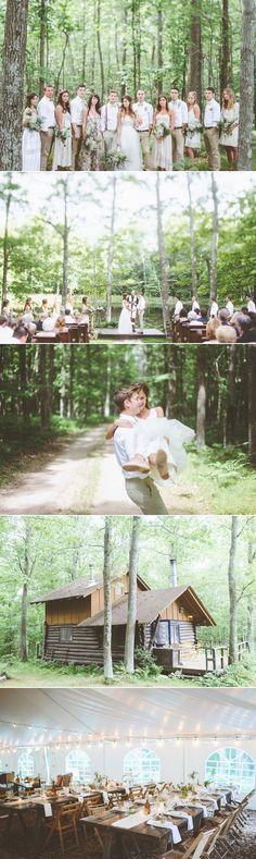 Najpiękniejsze leśne śluby | Bridelle